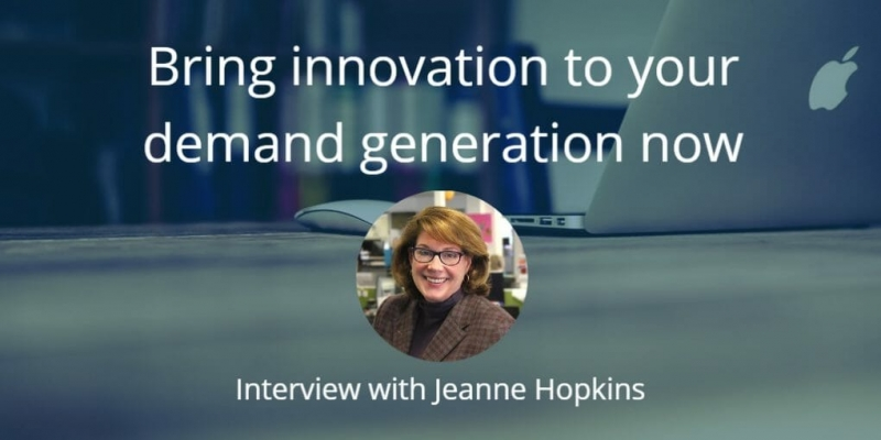 Bring more innovation to your demand generation now